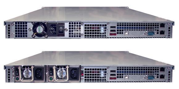 NDL-2400R-S und NDL-2400R-R Rückansicht
