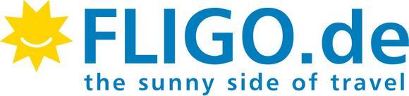 Logo des Online-Reiseportals FLIGO.de