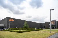 Dematic hat das neue Palettenhochregallager der pgb-Europe NV im belgischen Melle automatisiert. (Foto: Dematic)
