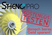 STHENO/PRO für Pro/ENGINEER: Sonderaktion bis 31. August