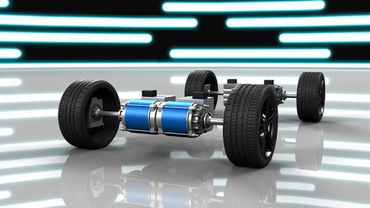 """die WITTENSTEIN AG zeigt auf der """"MobiliTec"""" in Hannover erstmals ein Beispiel eines hochkompakten elektrischen Antriebssystems, das Motor, Elektronik und Getriebe integriert und mit einem Leistungsgewicht von 2,0 kW/kg überzeugt"""