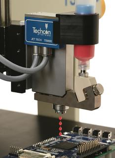 Techcon Systems to Demonstrate New TS9000 Series Jet Tech Valve at NEPCON China 2013