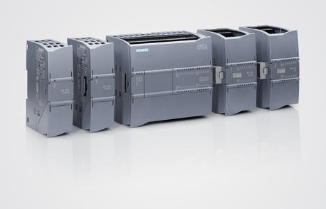 Simatic S7 1200 mit vier Erweiterungsmodulen