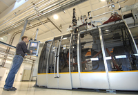 A fully-automated plastic parts production line was put into operation in Waltershausen (Photo: ContiTech)