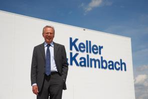 Dr. Florian Seidl führt das Familienunternehmen und feierte in diesem Jahr sein 40-jähriges Berufsjubiläum bei Keller & Kalmbach