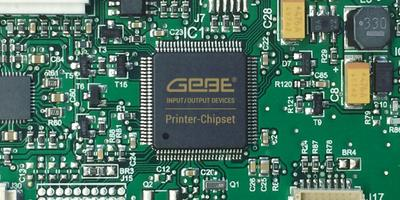 Thermal Printer Control With The GeBE-Chipset
