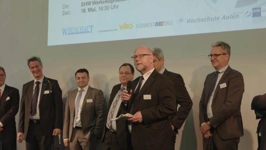 Beim ersten Maschinenbau-Forum Ostwürttemberg erläuterten fünf Firmenchefs den rund 150 Zuhörern Reaktionsstrategien auf politische Veränderungen in der globalisierten Wirtschaft