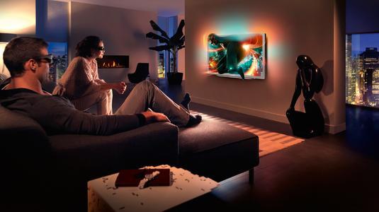 Die neuen 9000er Smart LED-TVs von Philips