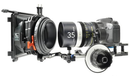 Cine Xenar an EOS Canon 7D