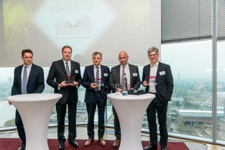 Michael Hauer und die IVFP-Award-Gewinner