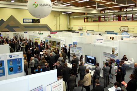 Besucherandrang zur Kooperationsbörse Zulieferindustrie Erzgebirge 2015