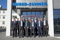 Beschaffungsabkommen zwischen HUBER+SUHNER und Rohde & Schwarz
