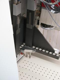 Neues Geschäftsfeld der WITTENSTEIN motion control GmbH: tool drives – hier zwei Basismodule im Einsatz bei der Holzbearbeitung