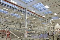 Geringerer Stromverbrauch, einfachere Wartung und Reinigung sowie optimierte Arbeitsbedingungen sind einige Gründe, die für eine Umrüstung auf LED-Leuchtmittel sprechen, die bis Ende 2014 gefördert wird.  Bildquelle; Regiolux GmbH