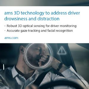 ams announces new demo system combines 3D sensing with eye tracking; picture copyright ams AG