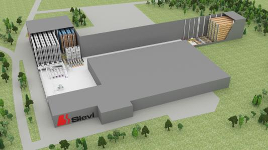 SSI Schaefer will sustainably extend Sievi's existing system to double the overall performance per hour and increase storage locations by more than 60%