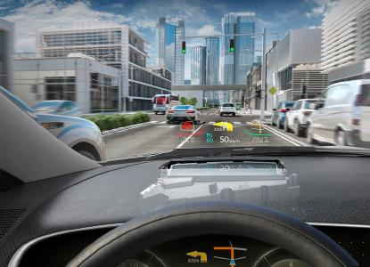 Continental head-up display with digital micromirror device technology. Photo: © Continental AG