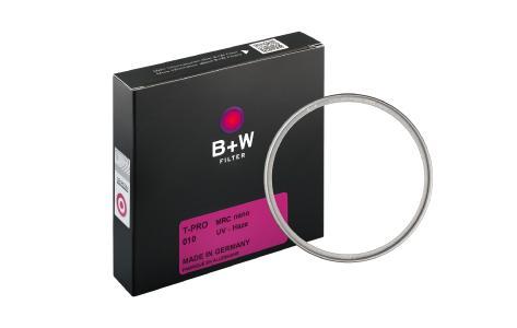 Die neue B+W T-PRO Filterlinie mit innovativem Titan-Finish. Verkaufsstart mit High Transmission Schutz- und UV-Filtern.