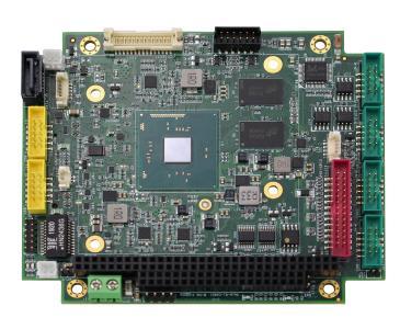 PC/104-Board mit Intel Baytrail CPU und ISA-Bus