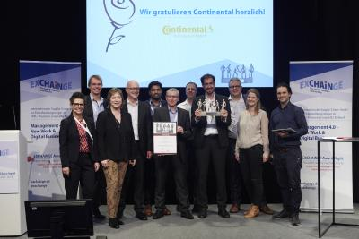Continental gewinnt Supply Chain Management Award 2019 - parcelLab erhält Smart Solution Award 2019