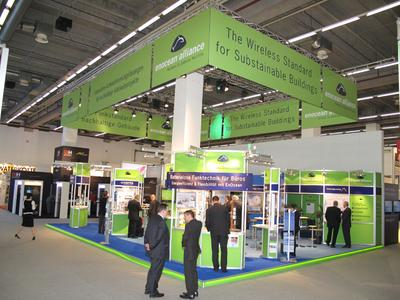 Stand EnOcean Alliance_Light+Building 2010