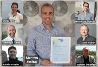 Silver winner Mehmet Yesiltas (Kirklareli University, Turkey) and his co-authors from Ankara University (Turkey), Stony Brook University (USA), Paris-Saclay University (France), the German Aerospace Center (Germany) and Cukurova University (Turkey). © Mehmet Yesiltas, Kirklareli University, Turkey