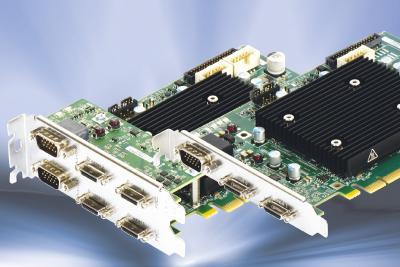 Matrox Rapixo CL Pro Framegrabber Varianten mit Dual/Quad-Base und Single/Dual-Full