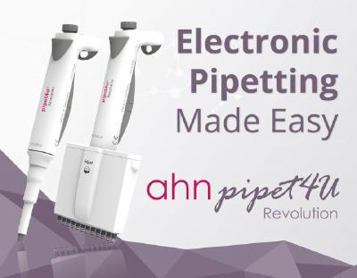 Electronic Pipetting Made Easy