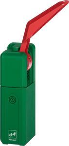 Einfach nachrüstbar: EXITalarm ist eine Alarmsicherung für Notausgänge, die unter dem Drücker montiert wird / Foto: ASSA ABLOY Sicherheitstechnik GmbH