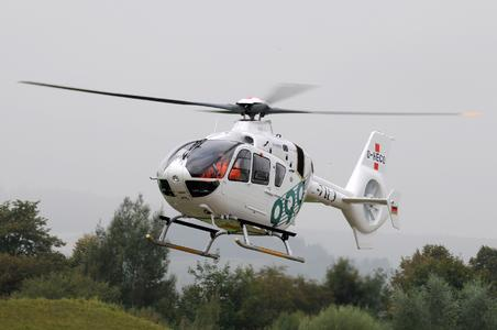 A picture of an theEC135 first flight is enclosed, Copyright:  Airbus Helicopters, Charles Abarr