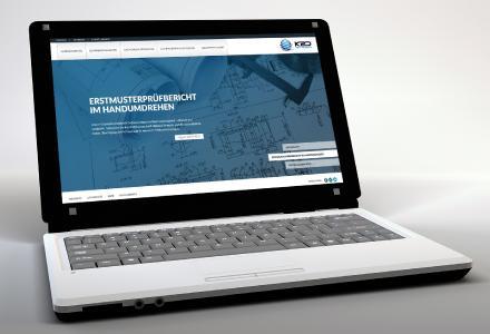 Das Webdesign der K2D erfüllt modernste Ansprüche