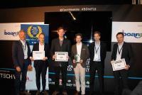 Die Finalisten und Gewinner in der Kategorie Konzern des BARC Best Practice Awards 2018 mit BARC-Gründer Carsten Bange
