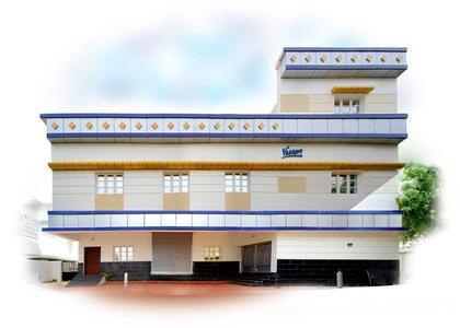 Das neue Firmengebäude der ACE Stoßdämpfer GmbH in Chennai, Indien, kurz vor dem Bezug im Herbst 2008