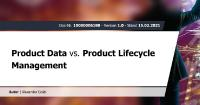 Product Data vs. Product Lifecycle Management