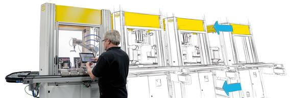 """""""FlexiMon"""" plant: HARTING is researching into the production of the future"""