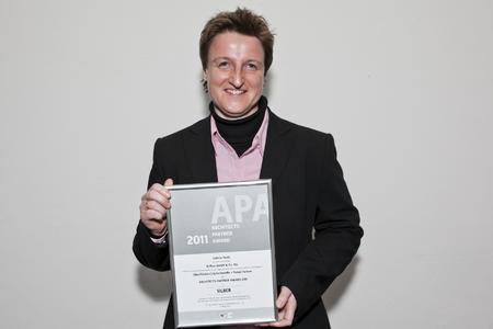Sabine Reith erhielt den APA.