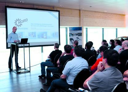 Voller Erfolg: Die Fachtagung für praktische Themen rund um die Antriebstechnik begeisterte die Kunden und Anwender des Veranstalters NORD DRIVESYSTEMS