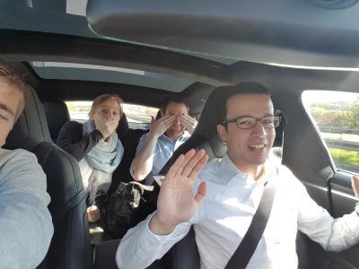 Autonom auf der Autobahn
