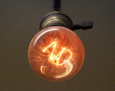 Seit 1901 leuchtet die Centennial-Bulb in einer Feuerwache in Livermore (Kalifornien)