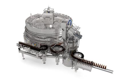 With the latest generation of the KHS glass filler users save up to 50% in CO2 emissions and a maximum of 20% in energy