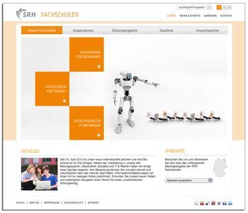 Startseite von www.die-fachschulen.de