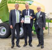 "STW has been awarded the Krone ""Supplier of the Year"" award for the second time in 2017"