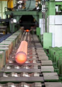 SIDENOR produziert Rundstäbe für die Automobilindustrie, die Öl- und Gasindustrie sowie im Maschinen- und Anlagenbau