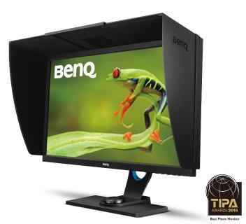 """Best Photo Monitor"" - TIPA-Award für den BenQ SW2700PT"