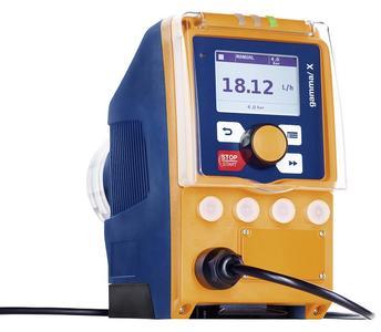 Solenoid diaphragm metering pump gamma/ X. Capacity range: 1 to 45 l/h, 25 to 2 bar