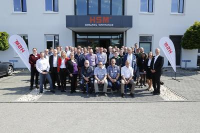 HSM invited its clients for a conference on environmental technology on Lake Constance