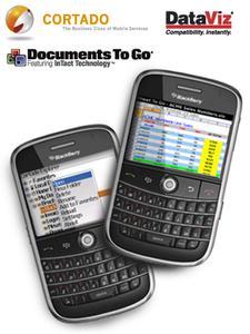 Cortado und DataViz präsentieren neues Softwarepaket für BlackBerry-Smartphones