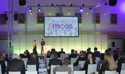 Olaf Hartmann spricht auf MX30 Expobusiness Congress
