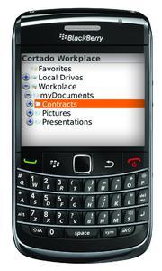 Cortado Workplace ist jetzt in der BlackBerry App World erhältlich