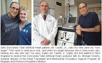 1st SynCardia Total Artificial Heart Implant Performed in New England